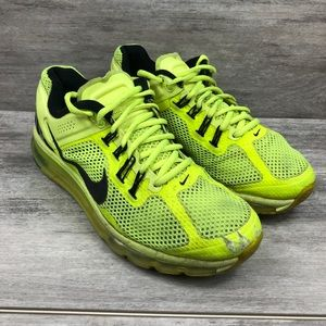 Nike Shoes   Air Max Highlighter Yellow